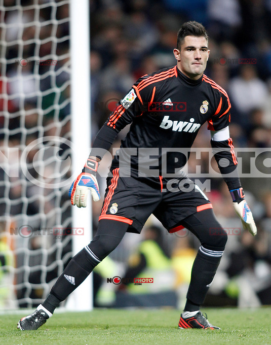 Real Madrid's Antonio Adan during Spanish King's Cup match.November 27,2012. (ALTERPHOTOS/Acero) /NortePhotoMx