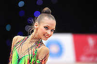 "February 8, 2014 - Tartu, Estonia - ANNA BUBENSHCHIKOVA (1999 junior) from Russia performs at ""Miss Valentine 2014"" international tournament."