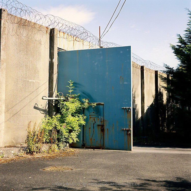 The Maze Prison near Lisburn, Northern Ireland, on Tuesday, July 18, 2006. The Maze Prison near Lisburn, Northern Ireland, on Tuesday, May. 16, 2006. HM Maze Prison, also known as Long Kesh and the H-Blocks, held some of the most dangerous men in Europe during its 30 year operation. The prison closed in September 2000 after 428 prisoners had been released under the Good Friday Agreement. There are now plans to turn the abandoned site into a national football stadium.