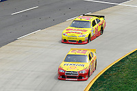 30 March - 1 April, 2012, Martinsville, Virginia USA.AJ Allmendinger, Dave Blaney.(c)2012, Scott LePage.LAT Photo USA