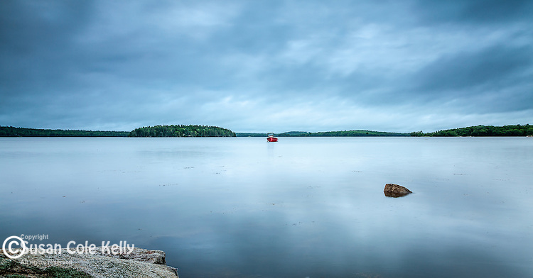 Taunton Bay in Hancock County, Maine, USA