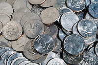 FIFTY CENT COINS<br /> Large Number Of Coins