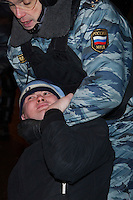 Moscow Police Make Mass Arrests At Planned Race Riot