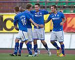 FC Minsk v St Johnstone 01.08.13