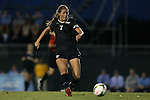 09 October 2014: Wake Forest's Sarah Teegarden. The University of North Carolina Tar Heels hosted the Wake Forest University Demon Deacons at Fetzer Field in Chapel Hill, NC in a 2014 NCAA Division I Women's Soccer match. UNC won the game 3-0.