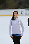 Christina Gao Attends The 2013 Skating with the Stars honoring B Michael and Andrea Joyce -A benefit gala for Figure Skating in Harlem Held At Trump Rink, Central Park, NY