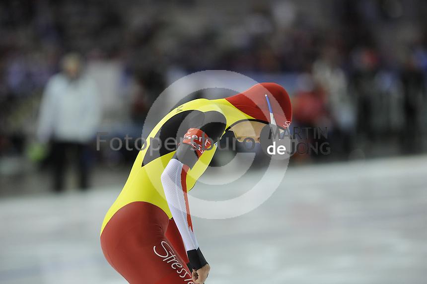 SCHAATSEN: CALGARY: Olympic Oval, 08-11-2013, Essent ISU World Cup, 1500m, Bart Swings (BEL), ©foto Martin de Jong