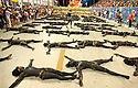 Choreography, Salgueiro samba school, Carnival 2010, Rio de Janeiro, Brazil. Samba Schools Parade in Sambodromo.