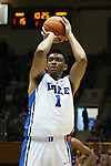 02 November 2013: Duke's Jabari Parker. The Duke University Blue Devils played the Drury University Panthers in a men's college basketball exhibition game at Cameron Indoor Stadium in Durham, North Carolina. Duke won the game 81-65.
