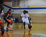 Lafayette High's Brandon Mack (5) vs. Calhoun City in boys high school basketball in the OTown Showdown in Oxford, Miss. on Wednesday, December 28, 2011. Lafayette High won 57-53.