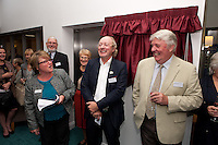 From left, General Manager Caren Billingsley, Mike Parsons of Barchester Healthcare and Councillor Jim Weale, Chair of Fernwood Parish Council