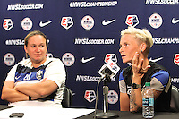 Seattle Reign FC Training and Press Conference, September 30, 2015