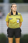 12 September 2013: Fourth Official Katherine Dziedzic. The Duke University Blue Devils hosted the University of Miami Hurricanes at Koskinen Stadium in Durham, NC in a 2013 NCAA Division I Women's Soccer match. Duke won the game 3-0.