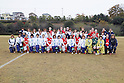 Arsenal Ladies FC team group, Musashigaoka College Ciencia team group, DECEMBER 2, 2011 - Football / Soccer : Frendiy Football match Arsenal Ladies FC 4-0 Musashigaoka College Ciencia at Musashigaoka College Stadium in Saitama, Japan. (Photo by Yusuke Nakanishi/AFLO SPORT) [1090]