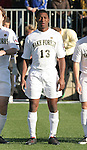 16 December 2007: Wake Forest's Michael Lahoud. The Wake Forest University Demon Deacons defeated the Ohio State Buckeyes 2-1 at SAS Stadium in Cary, North Carolina in the NCAA Division I Mens College Cup championship game.