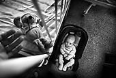Wroclaw 02.02.2007 Poland.<br /> Klaudia Haszkiewicz, 7 month. Klaudia is actual after tumor performed operation.<br /> Clinical Hospital, oncology and haematology departmend. This is one of the important Haematologic Hospital in all over Poland, however hospital board stopped to discharge a rising debt. In this connection authorities must close hospital, but goverment had no idea what should do with terminaly ill children.<br /> (Photo: Adam Lach / Napo Images)<br /> <br /> Akedemicki Szpital Kliniczny, oddzial onkologii i hematologii. Temu jednemu z najwazniejszych w Polsce osrodkowi szpitalnemu grozi zamkniecie w powodu dlugow, ktore niezaleznie od wplat NFZ-tu regularnie sciaga komornik. Z calej Polski ludzie charytatywnie wplacaja pieniadze by uratowac szpital i los dzieci dla ktorych to miejsce jest jedynym ratunkiem.