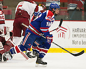 Riley Wetmore (UML - 16) - The visiting University of Massachusetts Lowell River Hawks defeated the Harvard University Crimson 5-0 on Monday, December 10, 2012, at Bright Hockey Center in Cambridge, Massachusetts.