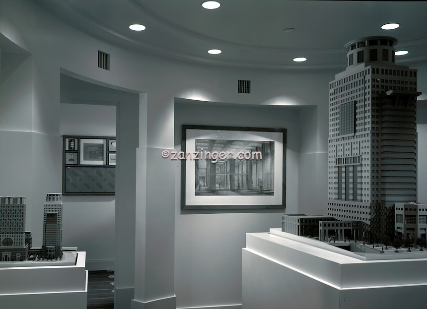 Michael, Graves, Architectural, Unique, Skyscraper, Design,  Model, Commercial, exterior,