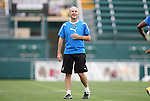 26 August 2011: Head coach Paul Riley. The Philadelphia Independence held a training session at Sahlen's Stadium in Rochester, New York the day before playing in the Women's Professional Soccer championship game.
