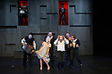 THE TIGER LILLIES PERFORM HAMLET has its UK premiere at the Queen Elizabeth Hall, Southbank Centre. Picture shows: Martyn Jacques (left) and Morten Burian (Hamlet) surrounded by the cast.
