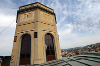 """Firenze.Florence..Bat Box. Casette per pipistrelli posizionate sul torrino del museo la """"La Specola""""...."""