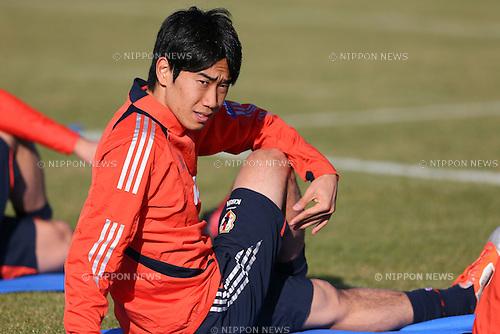 Shinji Kagawa (JPN), .OCTOBER 14, 2012 - Football /Soccer : .Japan national team training .at Akademia Wychowania Fizycznego We Wroclawiu, .Wroclaw, Poland. .(Photo by YUTAKA/AFLO SPORT) [1040]
