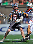 23 August 2008: Denver Outlaws' Midfielder Brian Langtry in action against the Los Angeles Riptide during the Semi-Finals of the Major League Lacrosse Championship Weekend at Harvard Stadium in Boston, MA. The Outlaws edged out the Riptide 13-12, advancing to the upcoming Championship Game.. .Mandatory Photo Credit: Ed Wolfstein Photo