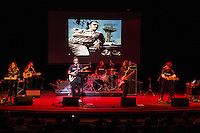 Mexrrissey, a Mexican supergroup that covers the songs of Morrissey, performs Me Choca Cuando Mis Amigos Triunfan (We Hate it When Our Friends Become Successful) at the Perelman Theater in Philadelphia on October 30, 2016.