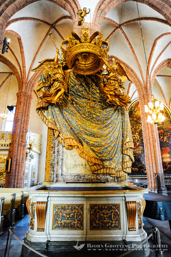 Sweden, Stockholm. Storkyrkan is the oldest church in Gamla Stan.