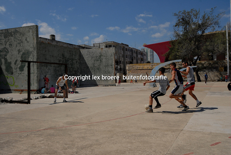 Sport en speelvelden in Havana