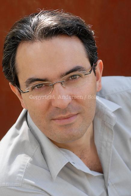 Juan Gabriel Vasquez, Colombian writer. May 2012.