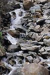 Water fall, Imst district, Tyrol,Tirol, Austria.