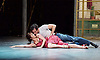 Jonathan Ollivier as Luca with Ashley Shaw as Lana in The Car Man by Matthew Bourne at Sadler&rsquo;s Wells. Ollivier was killed in a motorbike accident a few hours before the final show<br />