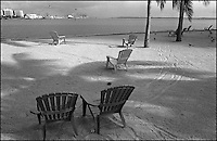 From &quot;Miami in Black and White&quot; series.<br /> Bayside Park, Miami, FL