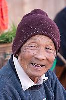 """Myanmar, Burma.  Burmese Man, Inle Lake """"Five-Day"""" Market, Shan State."""