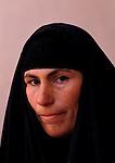 Marsh Arabs. Southern Iraq. Circa 1985. Marsh Arab woman. Baghdad,