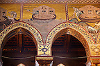 Byzantine mosaics depicting scenes from the Bible about Noah  in the Cathedral of Monreale - Palermo - Sicily Pictures, photos, images &amp; fotos photography
