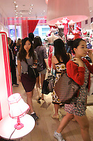 Guests in store during the &quot;Incredible by Victoria's Secret&quot; launch at the Victoria Secret SOHO Store, August 10, 2010.
