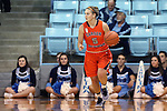 02 November 2016: Carson-Newman's Kayla Newman. The University of North Carolina Tar Heels hosted the Carson-Newman University Lady Eagles at Carmichael Arena in Chapel Hill, North Carolina in a 2016-17 NCAA Women's Basketball exhibition game. UNC won the game 96-70.