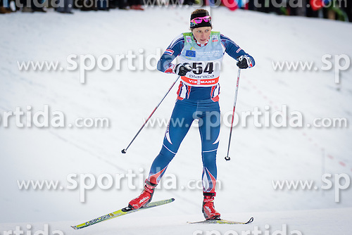 Vedrana Malec (CRO) during Ladies 1.2 km Free Sprint Qualification race at FIS Cross<br /> Country World Cup Planica 2016, on January 16, 2016 at Planica,Slovenia. Photo by Ziga Zupan / Sportida