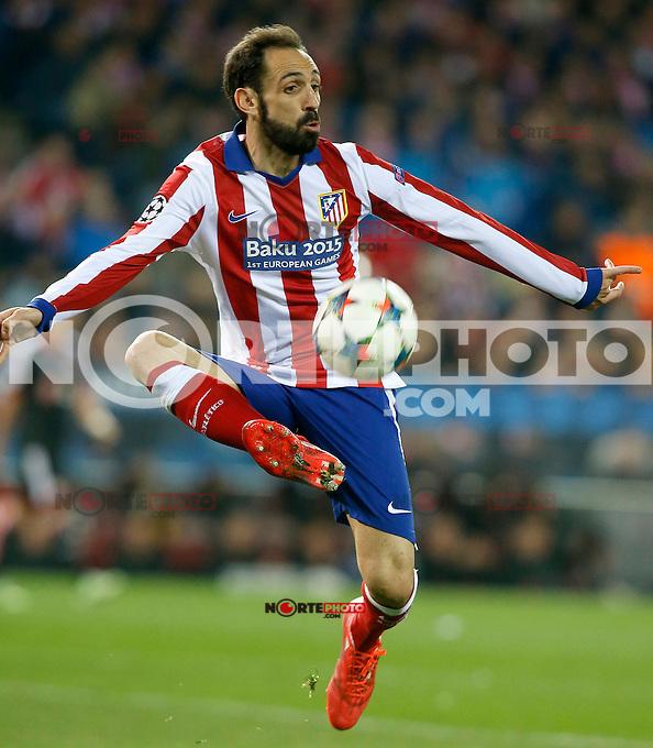 Atletico de Madrid's Juanfran Torres during Champions League 2014/2015 match.March 16,2015. (ALTERPHOTOS/Acero) /NORTEphoto.com