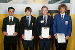 Boys Yachting finalists Christopher Steele, Paul Snow-Hansen, Hayden Cockburn & Andy Maloney. ASB College Sport Young Sportperson of the Year Awards 2007 held at Eden Park on November 15th, 2007.