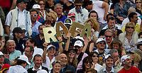 Rafa fans watching Rafael NADAL (ESP) against David FERRER (ESP) in the semi-finals. Rafael Nadal beat David Ferrer 6-2 6-3..International Tennis - 2010 ATP World Tour - Masters 1000 - Monte-Carlo Rolex Masters - Monte-Carlo Country Club - Alpes-Maritimes - France..© AMN Images, Barry House, 20-22 Worple Road, London, SW19 4DH.Tel -  + 44 20 8947 0100.Fax - + 44 20 8947 0117