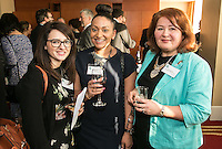 From left are Elizabeth Credgington of Maggies, Bindiya Patel of Actons and Susan Littlemore of Nottingham Hospitals Charity