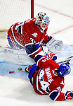 31 March 2010: Montreal Canadiens' goaltender Carey Price in second period action against the Carolina Hurricanes at the Bell Centre in Montreal, Quebec, Canada. The Hurricanes defeated the Canadiens 2-1. Mandatory Credit: Ed Wolfstein Photo