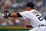 May 2, 2009:    #24 Miguel Cabrera of the  Detroit Tigers in action during the MLB game between Cleveland Indians and Detroit Tigers at Comerica Park, Detroit, Michigan. (Credit Image: Rick Osentoski/Cal Sport Media)