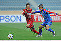 Gaku Shibasaki (Antlers), Zheng Wei (Shanghai), MAY 3rd, 2011 - Football : AFC Champions League Group H match between Kashima Antlers 2-0 Shanghai Shenhua at National Stadium in Tokyo, Japan. (Photo by Takamoto Tokuhara/AFLO)..