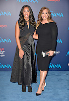 "HOLLYWOOD, CA - NOVEMBER 14: Dany Garcia and Simone Alexandra Johnson attends the AFI FEST 2016 Presented By Audi - Premiere Of Disney's ""Moana"" at the El Capitan Theatre in Hollywood, California on November 14, 2016. Credit: Koi Sojer/Snap'N U Photos/MediaPunch"