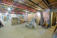 Major Renovation Litchfield Hall WCSU Danbury CT<br /> Connecticut State Project No: CF-RD-275<br /> Architect: OakPark Architects LLC  Contractor: Nosal Builders<br /> James R Anderson Photography New Haven CT photog.com<br /> Date of Photograph: 27 January 2017<br /> Camera View: 23 - Third Floor Lounge East