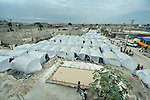 Thousands of survivors of Haiti's devastating January 12 earthquake live in a camp for homeless families in the Belair section of Port-au-Prince. The tents in this camp were provided by the ACT Alliance.